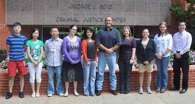 Ph.D. Students at the College of Criminal Justice.