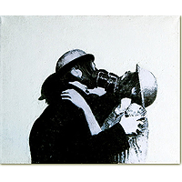 The Kiss - Acrylic Art Print Painting