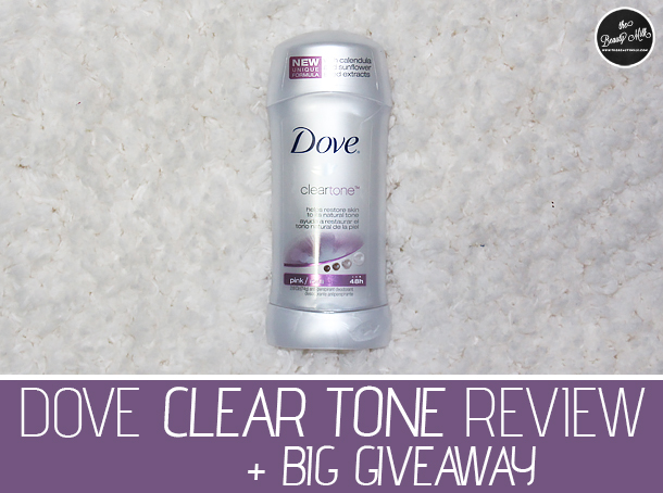 dove clear tone review giveaway