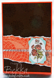 Best of Flowers Card by Stampin' Up! Demonstrator Bekka Prideaux - get this stamp set here