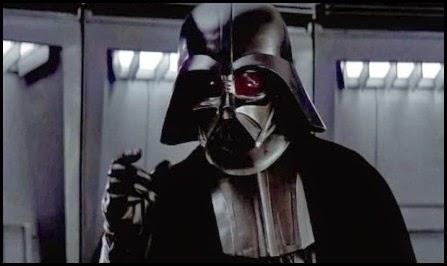 """Darth Vader en """"La guerra de las galaxias"""" (1977)"""