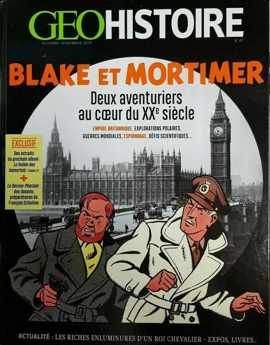 Blake et Mortimer : deux aventuriers au coeur du XXe siècle