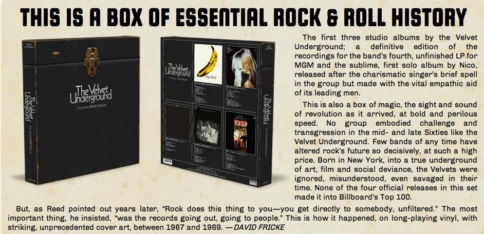 Stupefaction New Velvet Underground Boxset Coming
