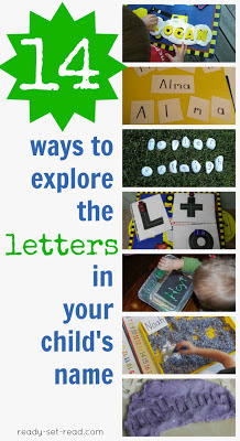 14 ways to learn letters