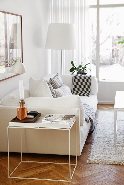 Cool neutral living room