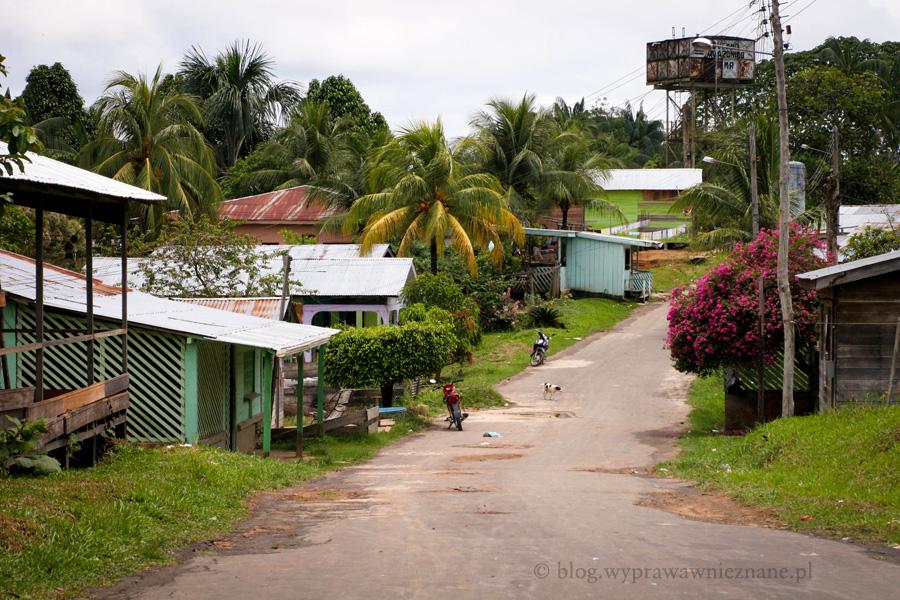 zdjęcie Brazylia Atalaya dżungla amazońska wioska