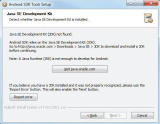 Installing the Android SDK Tools