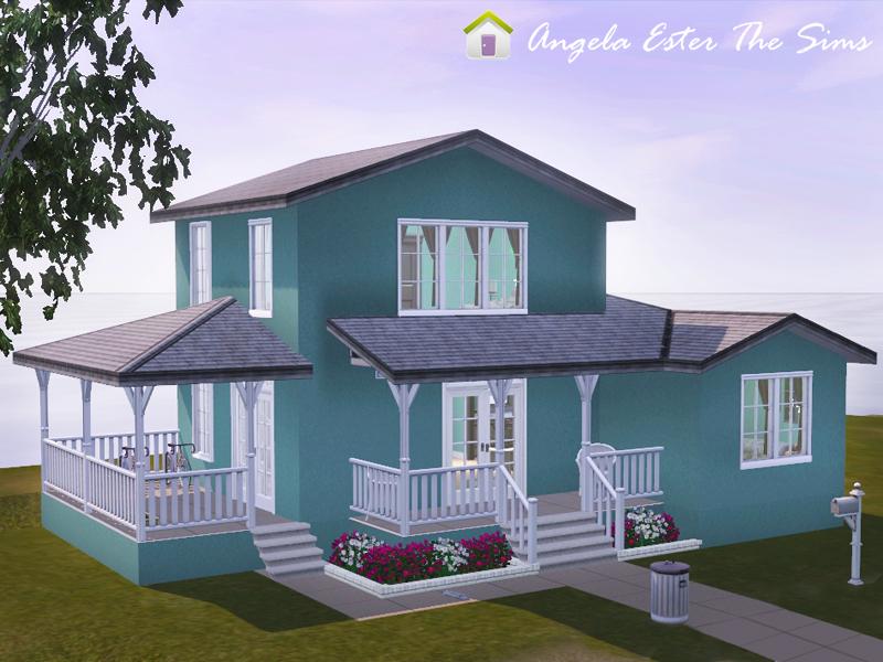 Angela ester the sims casa 48 the sims 3 - Casas bonitas sims 3 ...