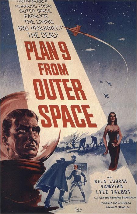 Plan 9 del espacio exterior (1956) Ed Wood (Coloreada)