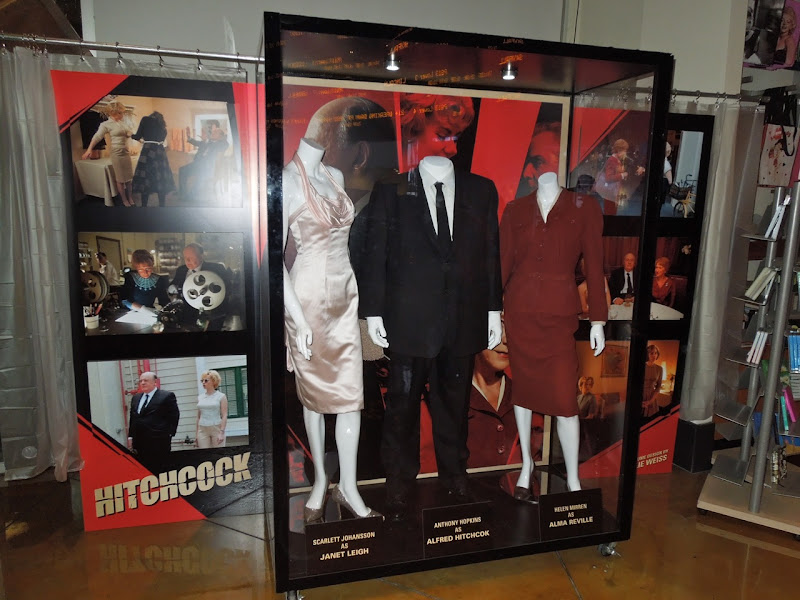 Hitchcock movie costumes ArcLight Hollywood