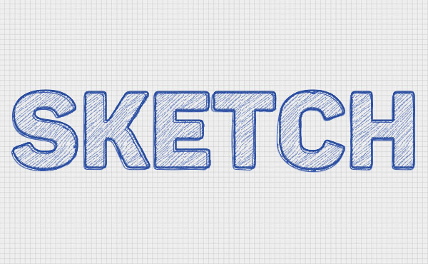 Create a Quick Sketch Text Effect in Adobe Photoshop