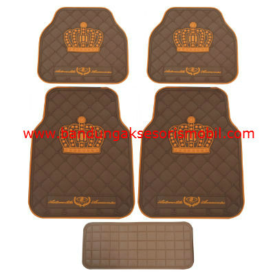Karpet DAD Mahkota Raja Coklat-Coffee Japan