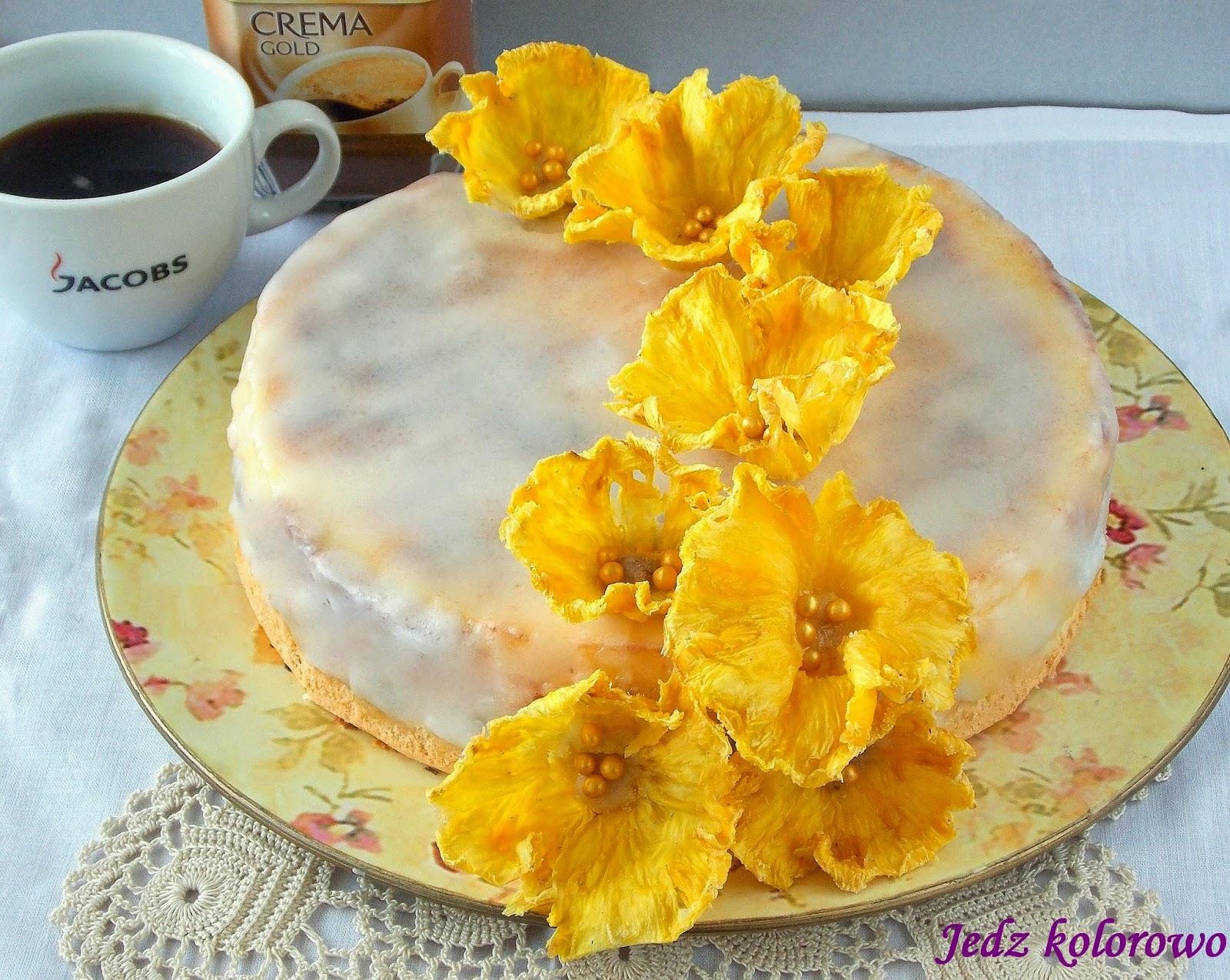 sernik ananasowy
