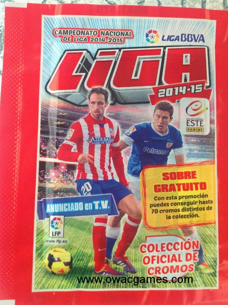 Liga ESTE 2014-15 sobre