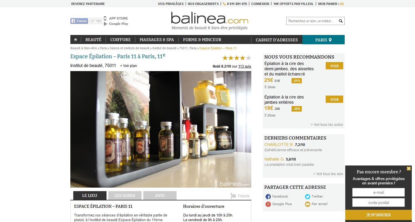www.balinea.com