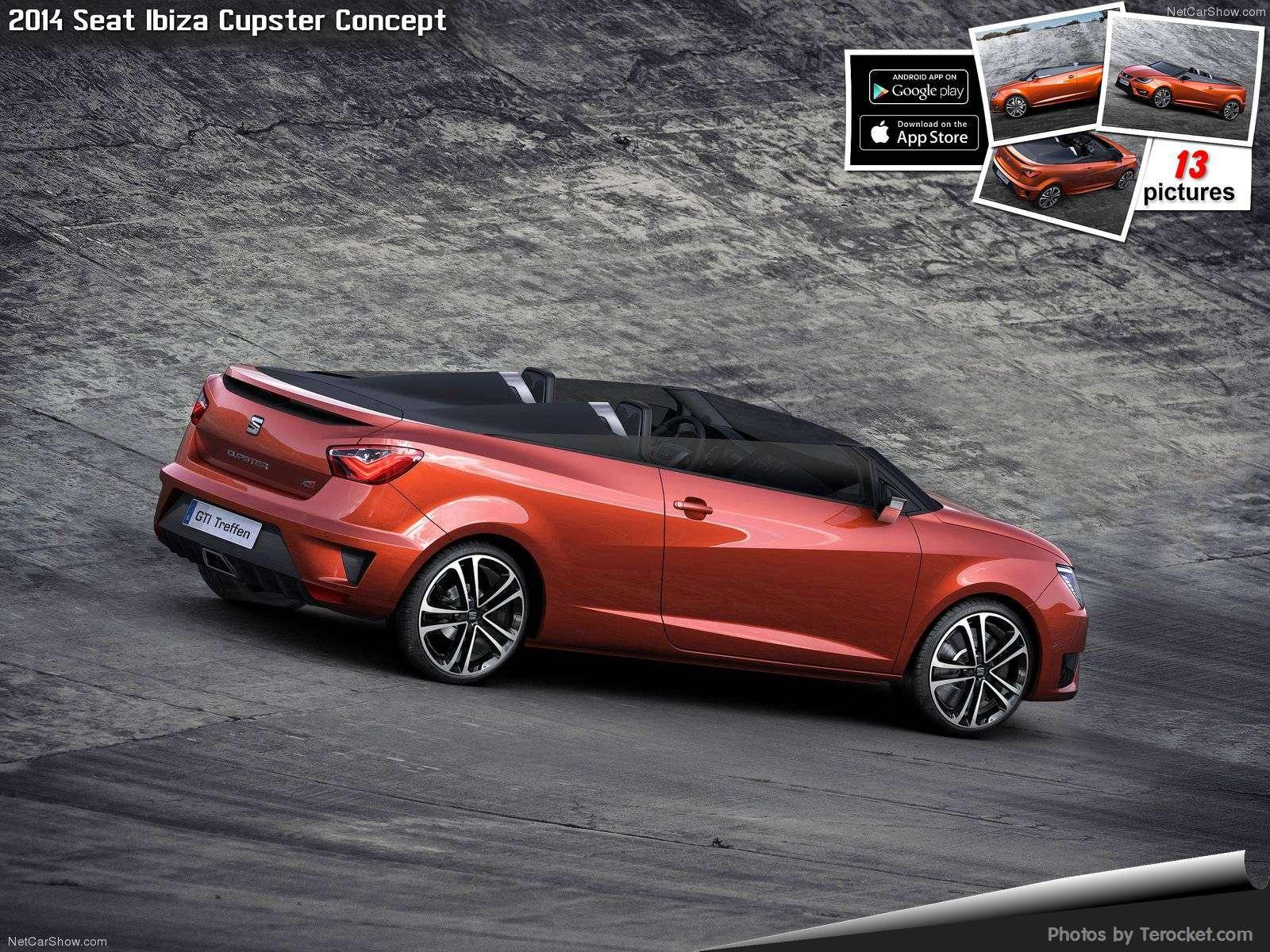 Hình ảnh xe ô tô Seat Ibiza Cupster Concept 2014 & nội ngoại thất