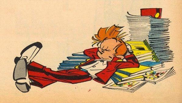 Les bonnes lectures de Spirou