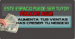 ESPACIO DISPONIBLE - ANUNCIA AQUI