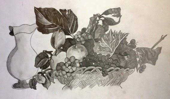Profdiarte Riproduzione Canestra Di Frutta Di Caravaggio