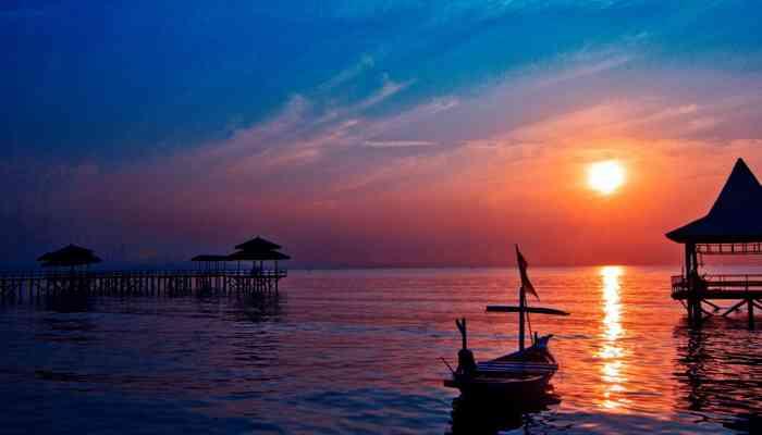Tempat Wisata Di Surabaya Yang Murah dan Yang Gratis - Pantai Ria Kenjeran