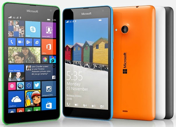 Microsoft Lumia 535 Dual SIM WP Murah Rp 1 Jutaan