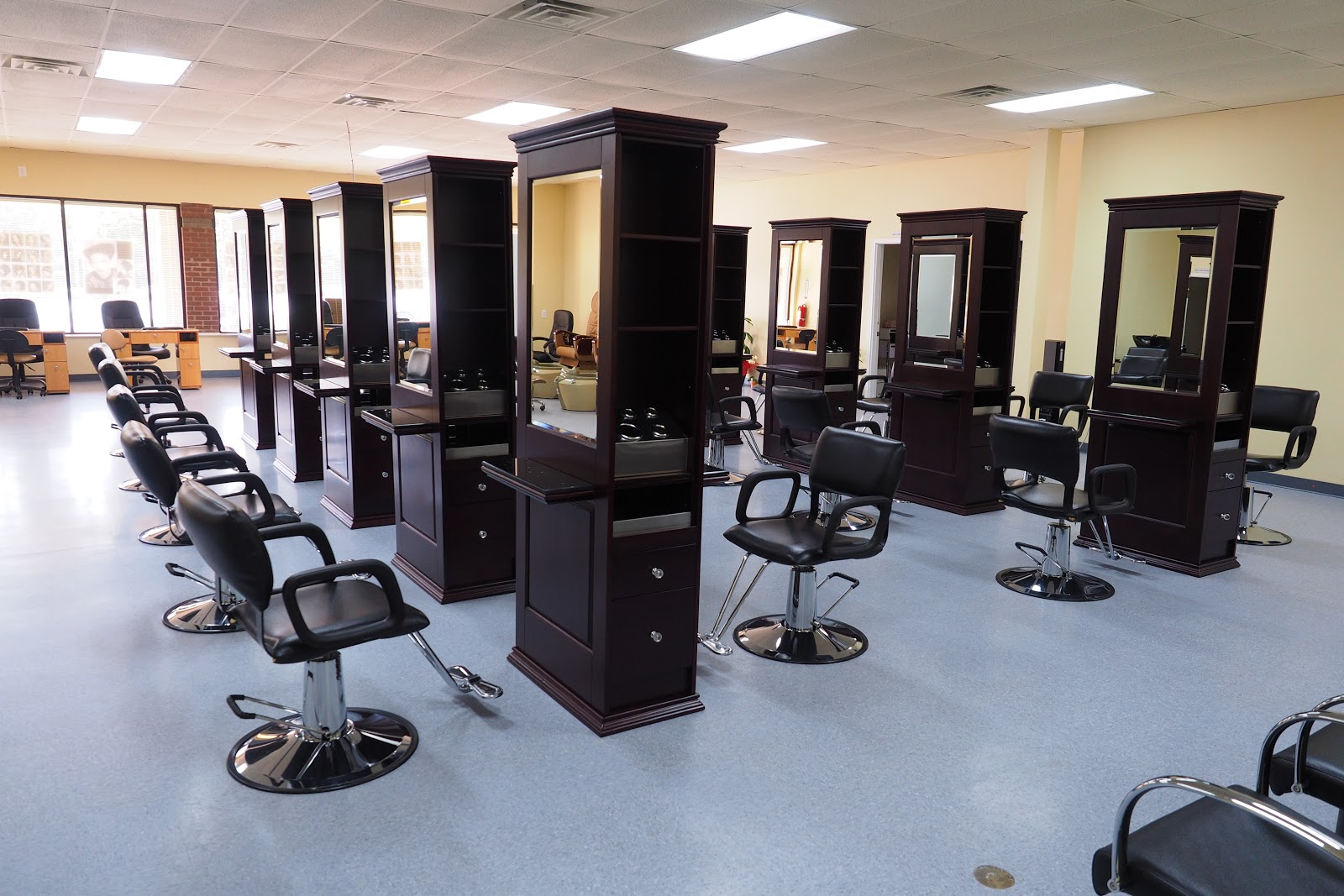 Cosmetology academy of america for Academy beauty salon