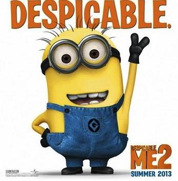 FILM REVIEW: DESPICABLE ME 2