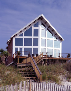 oceanfront post and beam