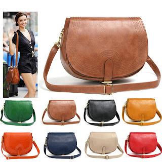 WOMEN Girl Korea Celebrity Style Leather Handbags Cross Shoulder Bags Bag Lady M