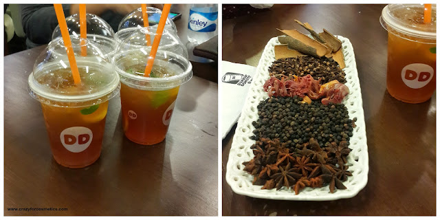 Spiked Iced tea at Dunkin Donuts