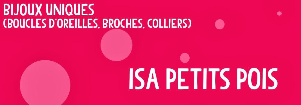 Isa Petits Pois - Bijoux uniques