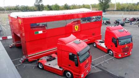 Fusion Race Team Ferrari f1 Race Team Trailers