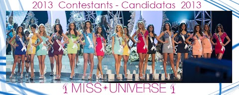 Miss Universe 2013: Contestants - Candidatas