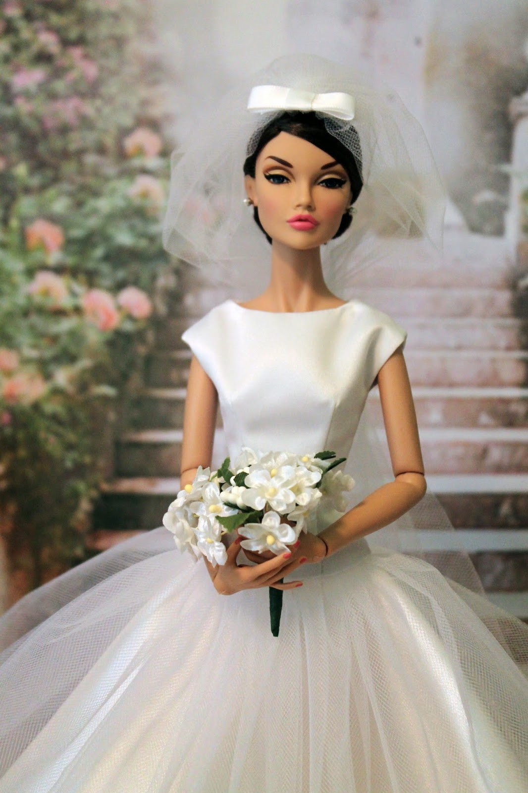 Diane on whidbey island funny face wedding dress for Funny face wedding dress