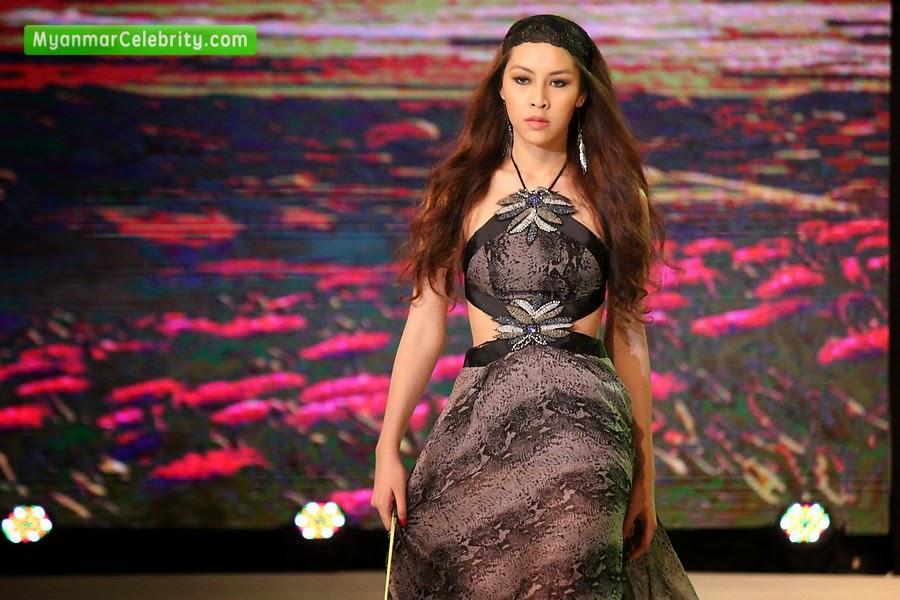 Supermodels myanmar int 39 l fashion week 2015 for Myanmar wedding dress price