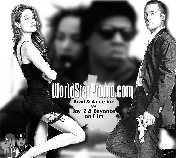 Brad Pitt Angelina Jolie- Jay Z and Beyonce movie