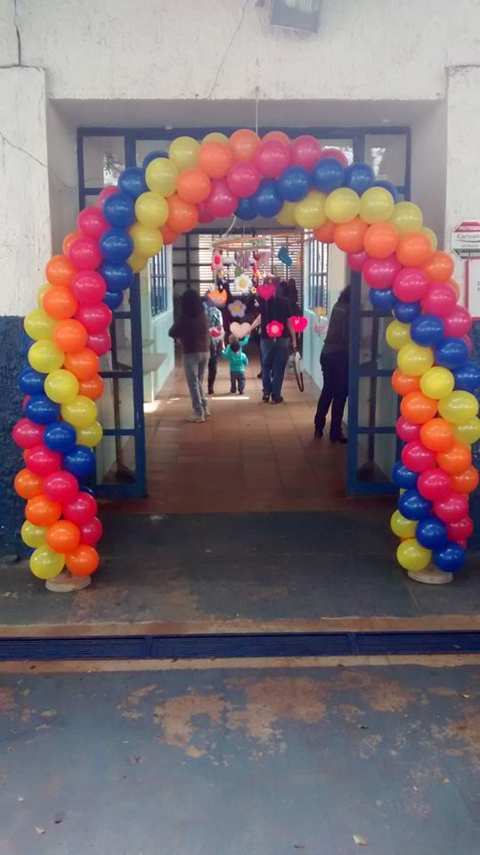 Entrada do Centro de Educação Infantil Presidente Arthur Bernardes