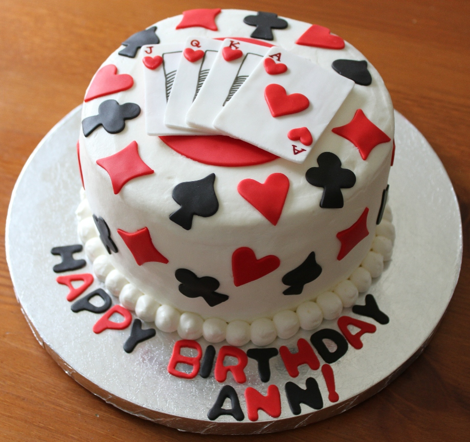 Emily s Delights: Playing Cards Cake