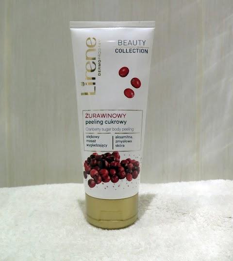 Lirene Cukraus kūno šveitiklis su spanguolių ekstraktu
