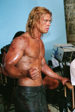 The Physique Challenge: Brad Pitt - Fight Club vs Troy ...