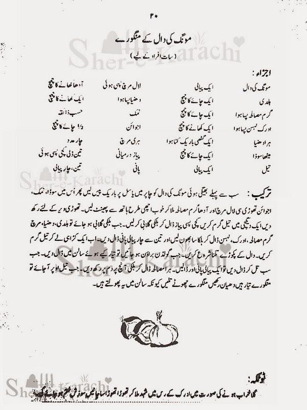 Moong Ki Daal Ke Mangore Recipes | Shehar-e-Karachi: Urdu ...