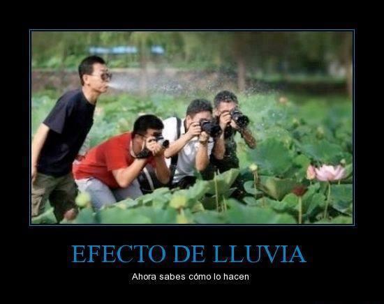 imagenes chistosas fb: Como Se Hace El Efecto De Lluvia
