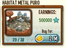 habitat para el dragon metal puro