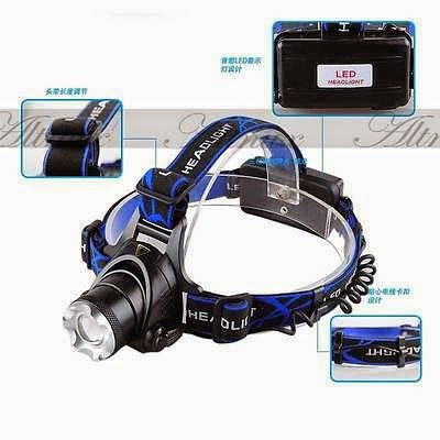 2000 Lm CREE XM-L XML T6 LED Headlamp Headlight flashlight head light lamp 18650