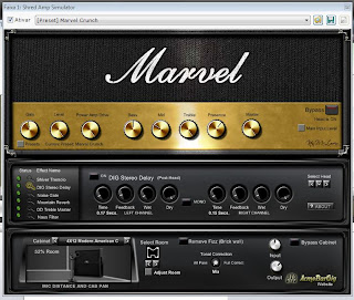 Teste do plugin VST para guitarra Shred Amp da Acme Bar Gig