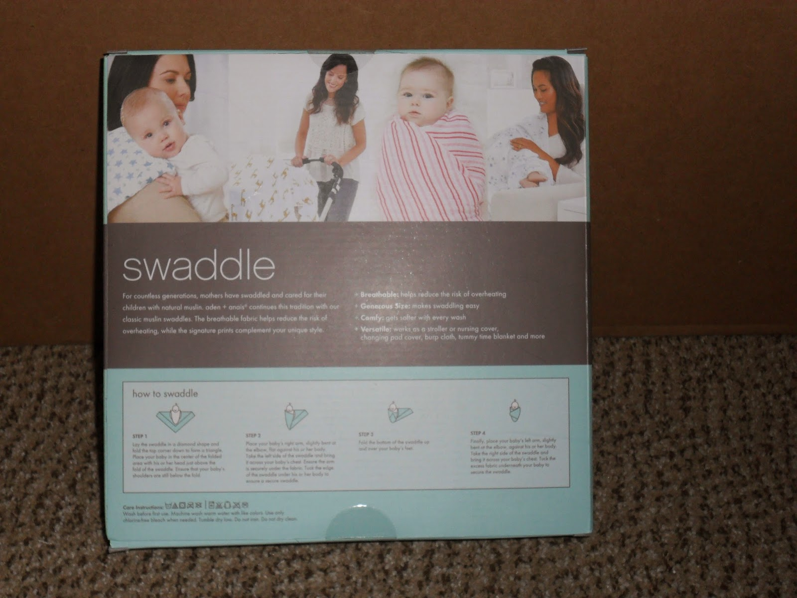 Swaddle Me. Aden+Anais Review (Blu me away or Pink of me Event)