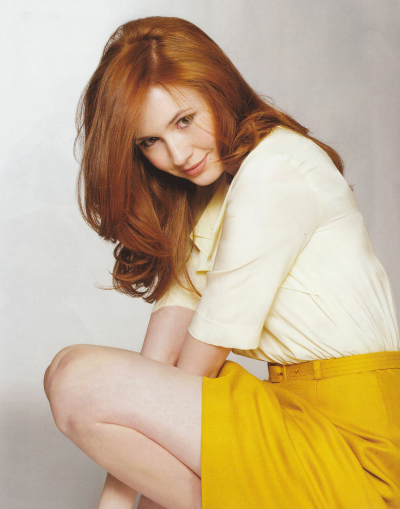 Karen Gillan Enticing Smile