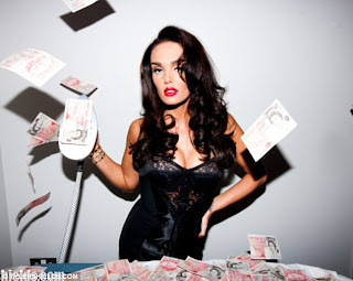 Billion $$$ Girl: Tamara Ecclestone rolls around naked in a bed full of £1million - that she just happened to have lying around! 5