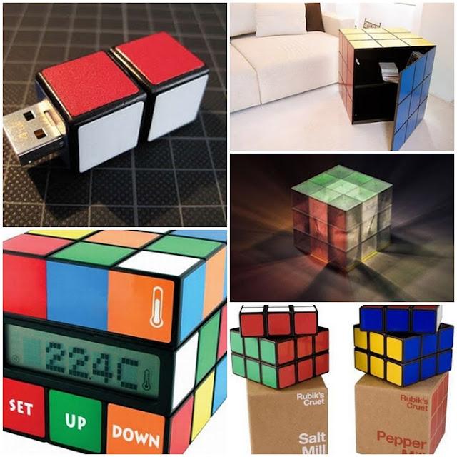 Karya Unik yang Terinspirasi dari Sebuah Rubik