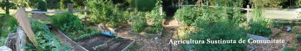 Agricultura Sustinuta de Comunitate